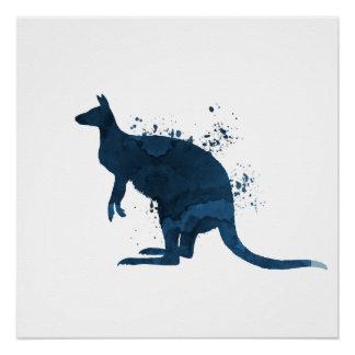 Känguru Poster