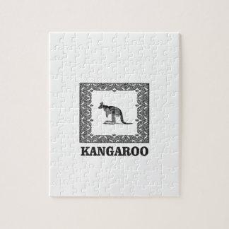 Känguru quadriert puzzle