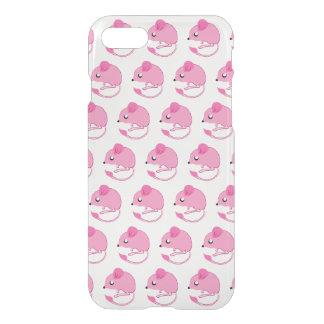 Känguru-Ratten-Fall-freier Raum/Rosa iPhone 8/7 Hülle