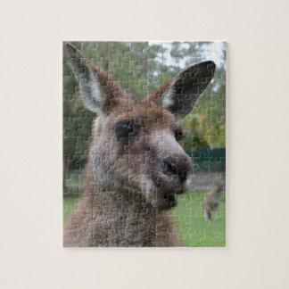Känguru selfie puzzle