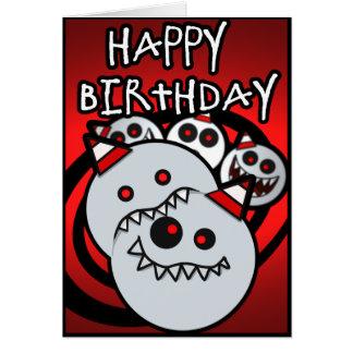 Kaniballz Geburtstags-Karte Karte