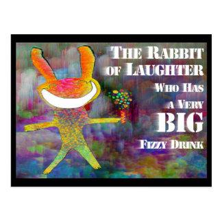 Kaninchen des Gelächters [Postkarte] Postkarten