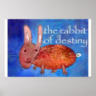 Kaninchen des Schicksals [Plakat] Poster