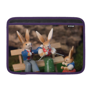 Kaninchen-Familie Ostern MacBook Air Sleeve