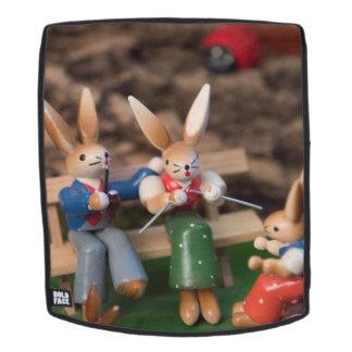 Kaninchen-Familie Ostern Rucksack