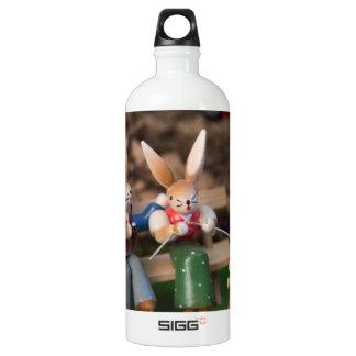 Kaninchen-Familie Ostern Wasserflasche