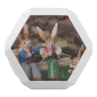 Kaninchen-Familie Ostern Weiße Bluetooth Lautsprecher