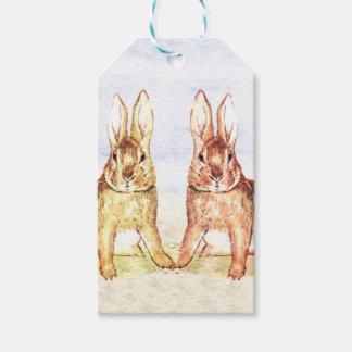 Kaninchen Geschenkanhänger