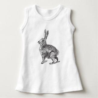 Kaninchen-Hase-Skizze Kleid