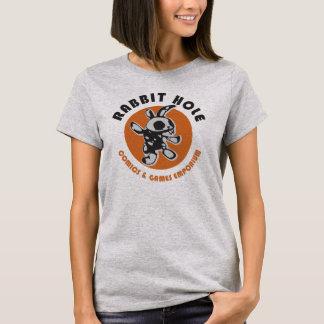 Kaninchen-Loch-T - Shirt