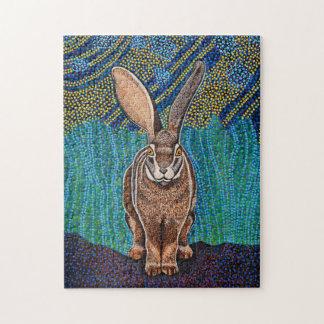 Kaninchen-Puzzlespiel Puzzle