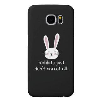 Kaninchen tun gerade nicht Karotte alle