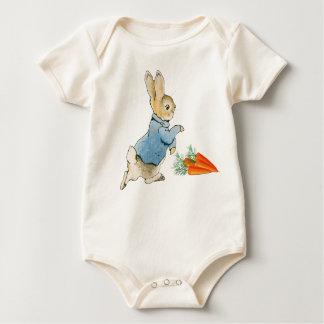 Kaninchen und Freunde Baby Strampler