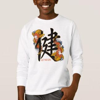 Kanji Koi Fisch-Gesundheit T-Shirt