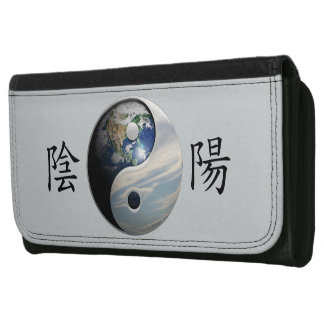 Kanji mit Erde u. Himmel Yin Yang