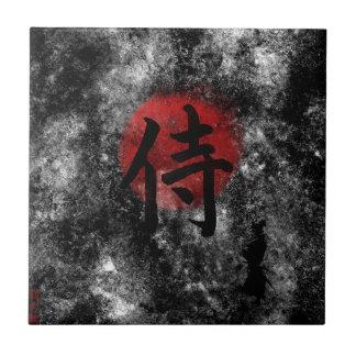 Kanji-SamuraiGrunge 2 Keramikfliese