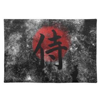 Kanji-SamuraiGrunge 2 Tischset