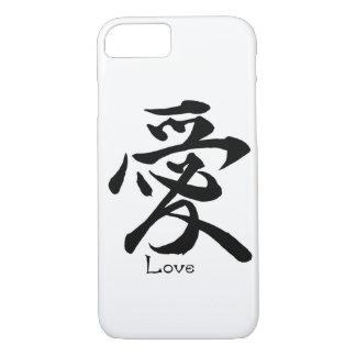 Kanji-Symbol LIEBE japanische chinesische iPhone 8/7 Hülle