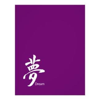 Kanji-Traumsymbol Flyer