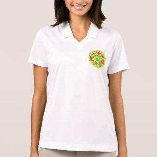 Kanji und Englisch Polo Shirt
