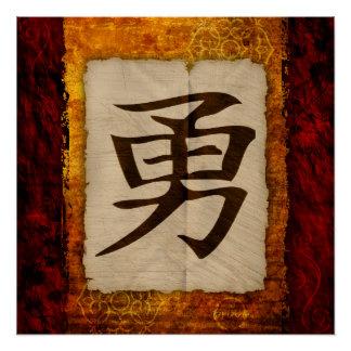 KanjiZen tapfer Poster