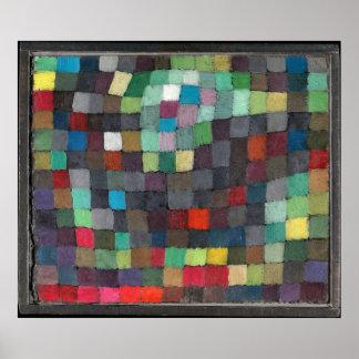Kann, durch Paul Klee darstellen, 1925 Poster