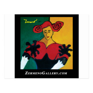 Kann Española von ZermenoGallery.com einmachen Postkarte