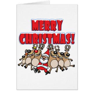KANN frohe Weihnachten EINMACHEN! Karte
