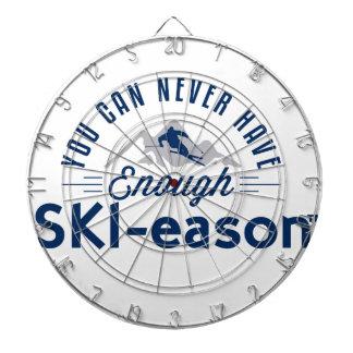 Kann genügend Ski-eason Tasse nie haben Dartscheiben
