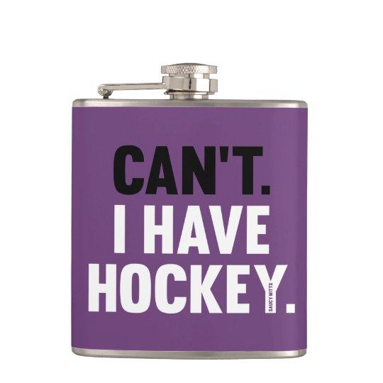 Kann ich die Hockey-lustige Entschuldigung nicht Flachmann