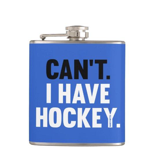 Kann ich Hockey-lustiges Flachmann