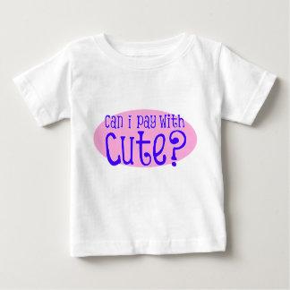 Kann ich zahle mit niedlichem VI Baby T-shirt