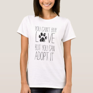 Can't Buy Love, Pet Lovers Ladies Tee