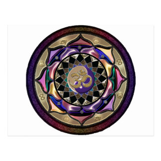Kann Mandala überraschen Postkarte