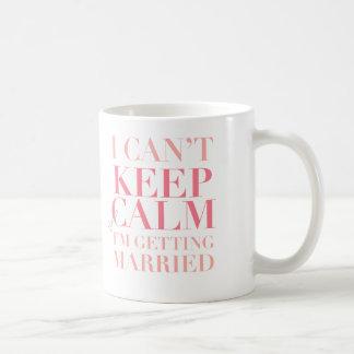 Kann Ruhe nicht behalten - ich erhalte Kaffeetasse