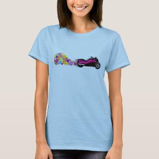 Kann stolperndes Gänseblümchen-Shirt morgens T-Shirt