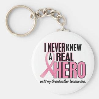Kannte nie ein Held 2 ROSA (Großmutter) Standard Runder Schlüsselanhänger