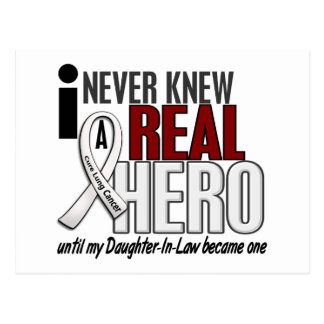 Kannte nie einen Schwiegertochter-Lungenkrebs des Postkarte