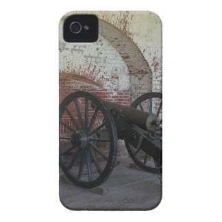 Kanone am Fort Pulaski iPhone 4 Cover