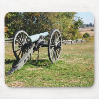 Kanone auf dem Gettysburg-Schlachtfeld Mousepad
