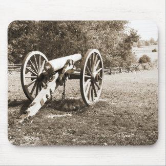 Kanone auf dem Gettysburg-Schlachtfeld Mousepads