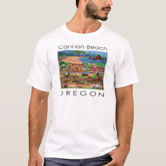 Kanonen-Strand ~ Oregon T-Shirt