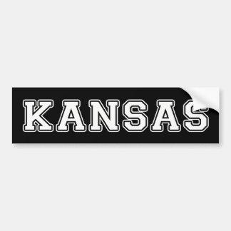 Kansas Autoaufkleber