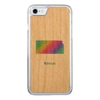Kansas Carved iPhone 8/7 Hülle