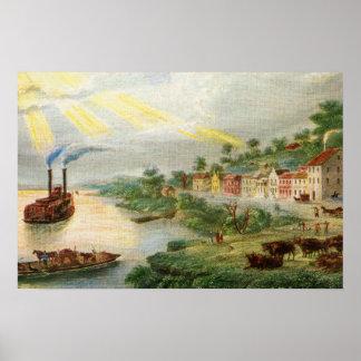 Kansas City 1850 (enthalten als Stadt) Poster