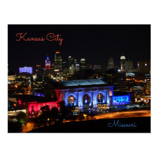 Kansas City, Missouri, Gewerkschafts-Station Postkarte