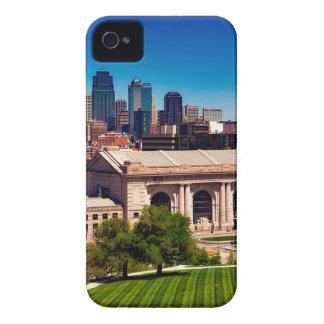 Kansas- CitySkyline iPhone 4 Etuis