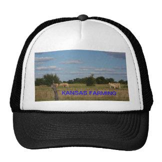KANSAS, das BEWIRTSCHAFTET, den Hut (der Kuh) Baseballmützen