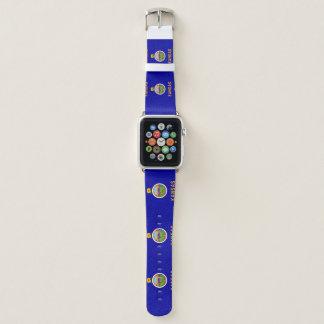 Kansas-Flagge Apple Watch Armband