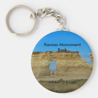Kansas-Monument-Felsen-Schlüsselkette Schlüsselanhänger